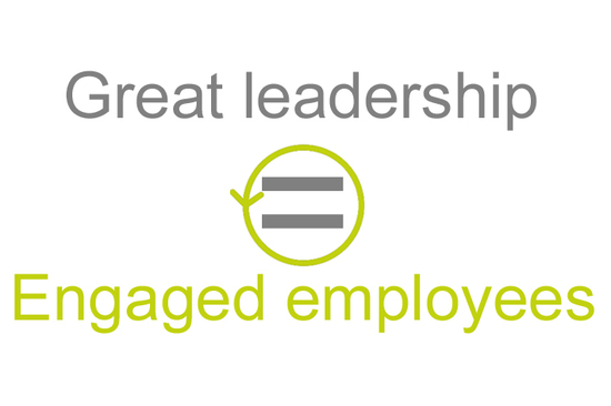 Employee engagement and leadership